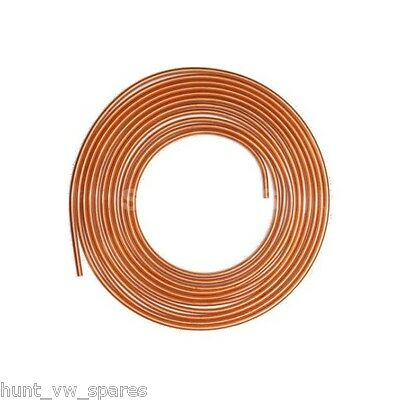 3 ROLLS OF COPPER BRAKE PIPE HOSE LINE 25FT 3/16 4.76MM -  cu316