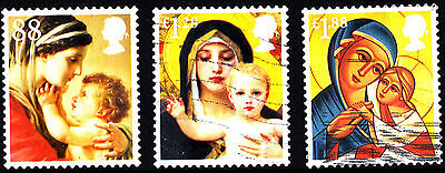 Great Britain 2013 Christmas 3 High Value Stamps P Used S/A