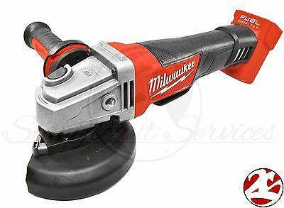 "New Milwaukee 2780-20 FUEL M18 4-1/2"" 5"" Cordless Grinder Paddle Switch No-Lock"