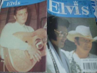 Elvis Monthly UK Booklets- 36th Year -1995- 6 Issues- #427/428/429/430/431/432