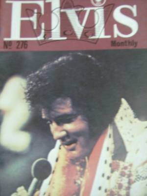 Elvis Monthly UK Booklets- 24th Year -1983- 6 Issues- #276/277/278/279/280/281