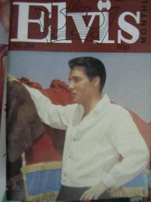 Elvis Monthly UK Booklets- 25th Year -1984- 6 Issues- #288/289/290/291/292/293