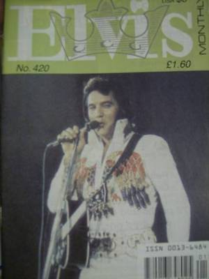 Elvis Monthly UK Booklets- 36th Year -1995- 7 Issues- #420/421-EXTRA/422/423/424