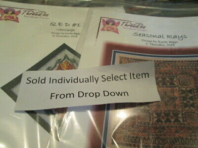 Threedles Oval Canvaswork Needlepoint Chart Your Choice #1 ,2, 3 OR 4