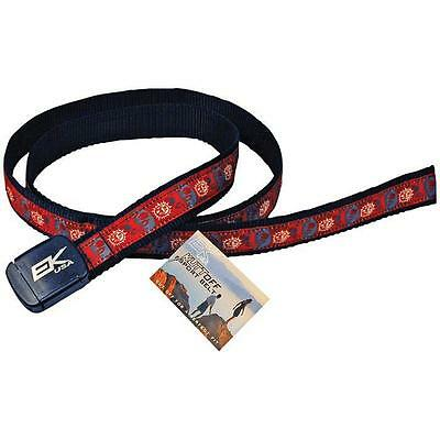 Ek Usa Designer Kutt Off Nylon Belt - Su Misura, One Size Fits All, Made In Usa