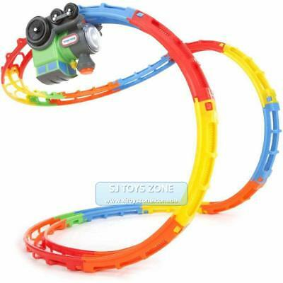 Little Tikes Tumble Train Light & Sound with Curvy Track Fun Children Toy Gift