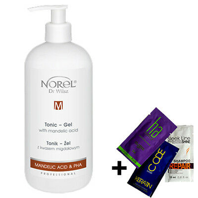 Norel Tonik Zel Z Kwasem Migdalowym | Tonic Gel With Mandelic Acid 500Ml + Gift