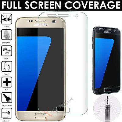 FULL SCREEN Face Curved TPU Screen Protector For Samsung Galaxy S7