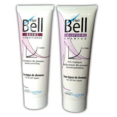 HairPlus HairBell Shampoo & Conditioner Hair Jazz HairJazz Hair Bell 2x250ml