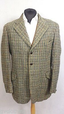 Genuine Vintage Harris Tweed Jacket/Blazer Brown 44 Chest Ex. Cond. P512