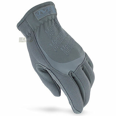 NEW Mechanix Tactical FastFit Covert Police Military Airsoft Gloves Wolf Grey