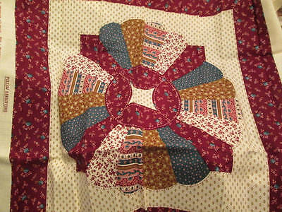 Village Flair Pillow Top Ready For Quilting-16.5 Inches Square