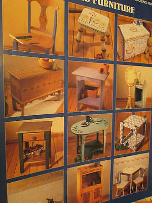 Stenciled Furniture Painting Book-Driggers -NO Stencils Included-16 Projects