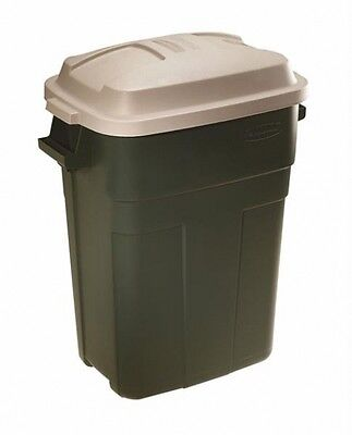 Rubbermaid Roughneck Slim Fit Refuse Container Trash Garbage 30 Gallon New