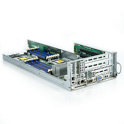 Supermicro Systemboard MBD-X8DTT-HF Rev. K Chassis w/ RSC-R2UT-2E8R Riser Board