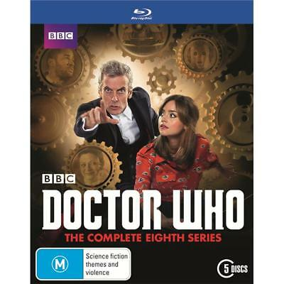 DOCTOR Dr WHO Complete 8th Series Season 8 Blu Ray RB New & Sealed