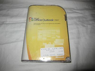 Microsoft Office Outlook, 2007 Software w/Key Home Office & Small Business