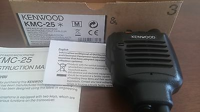 Kenwood Kmc-25 Speaker Microphone New