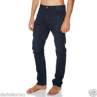 Bnwt Billabong Boys Straight Fit Outsider Denim Stretch Jeans (10) Rrp $80