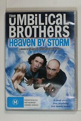 The Umbilical Brothers - Heaven By Storm (DVD, 2011)