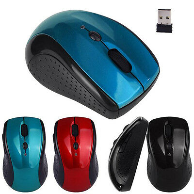Ajustable 1600DPI 2.4 G Optique Sans fil Mouse Souris w/USB Dongle