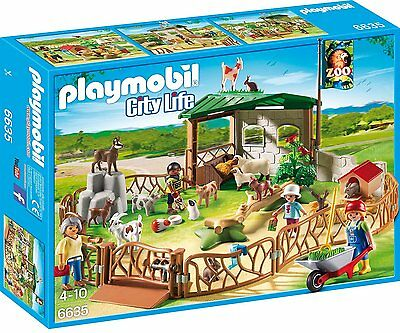 Playmobil Children's Petting Zoo 6635
