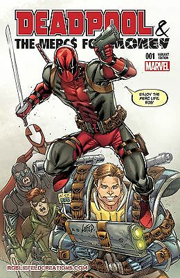 Deadpool & The Mercs For Money 1 Rare Rob Liefeld Own Color Variant Nm