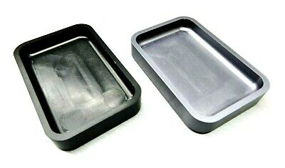 STONE TRAYS STACKABLE MACHINED ALUMINUM SORTING STONE SETTING ORGANIZE SET-2 Pc