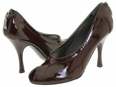 New Guess Pumps By Marciano Lantana2 Dk Brown Size 8.5M