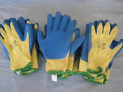 West Chester 700KSLC Blue Crinkle Finish Laytex Palm Coated Kevlar Gloves New Lo