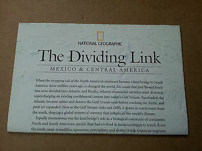 National Geographic supplement, The Dividing Link, August 2007