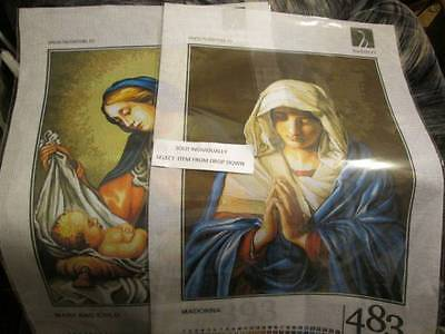 Hudemas Jesus/Mary/Religious Needlepoint Canvas Your Choice- 30x40 cm (12x15.75""