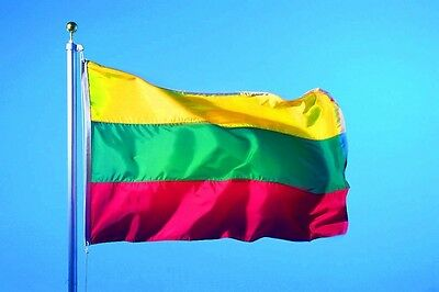 Lithuanian Flags 3x5FT Hanging Lithuania flag BANNER Festival HOME decor outdoor
