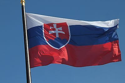 Slovakia FLAG slovak Banner EU 3*5FT/90*150cm Banner Festival Home Decoration