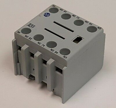 Allen Bradley 100-FA31 Auxiliary Contact Block, with 3 NO / 1 NC Contacts