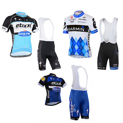2016 New Sports Team Cycling Bike Clothing Jersey Shirts  Bib Padded Short Kits