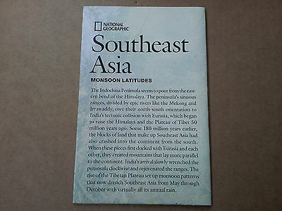 National Geographic supplement, Southeast Asia, May 2009
