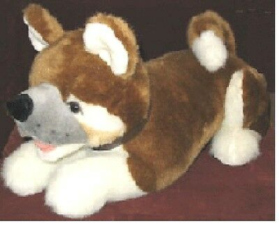 Adam the AKITA  Plush Exclusive Design Stuffed  NEW