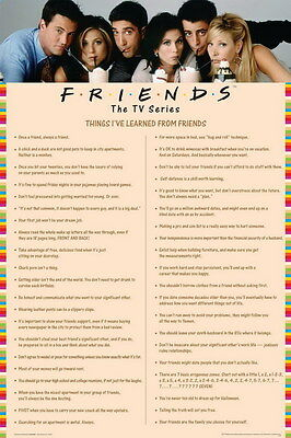 """202 Hot Movie TV Shows - Friends 10 14""""x21"""" Poster"""