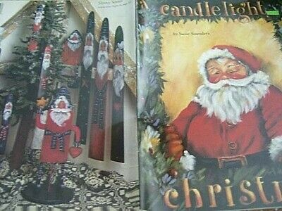 A Candlelight Christmas Painting Book-Saunders-Santas/Angels/Stars