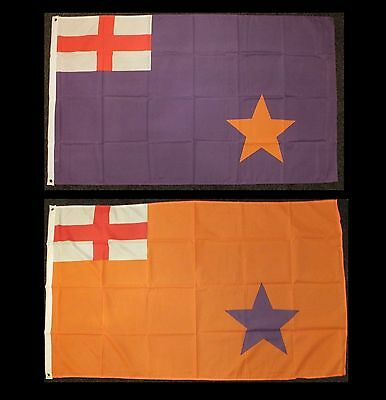 Orange Order Flag Ulster Protestant 1912 Loyalist Unionist Purple WW1 UVF Parade