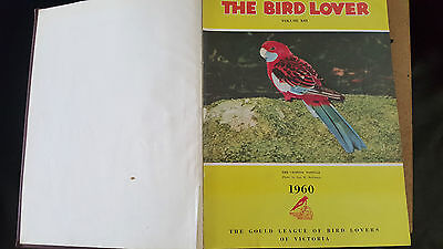 The Bird Lover 1960 - 1965 Gould League - 6 Bound Magazines