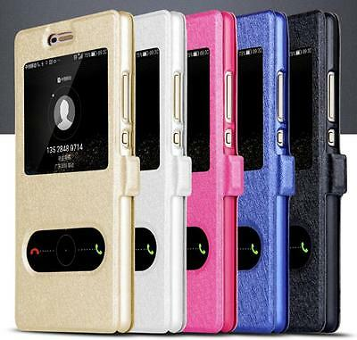 For Huawei P8 & P8 Lite Leather  Cover Case  Protective Accessories