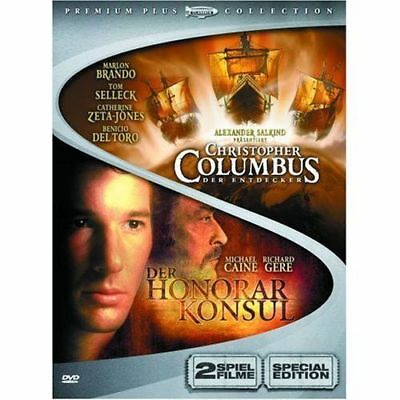 Christopher Columbus / Der Honorarkonsul - DVD/NEU/OVP