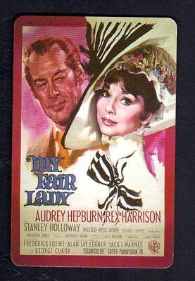 Vintage Swap/Playing Card - My Fair Lady Advertisement