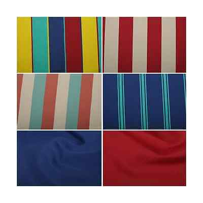 Traditional Deck Chair Canvas Fabric Cotton Polythene Deckchair