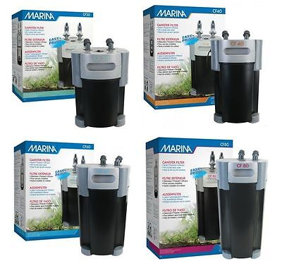 Marina Cf20 Cf80 External Canister + Media Filter Aquarium Fish Tank