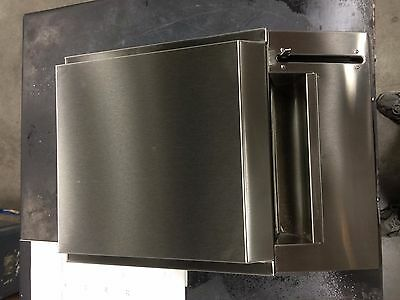 Kimberly-Clark Convert-A-Matic Recessed Stainless Steel Paper Towel Dispenser