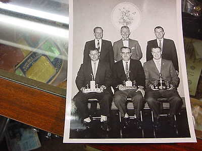 very nice original photograph  kingston police early 1958  group shot