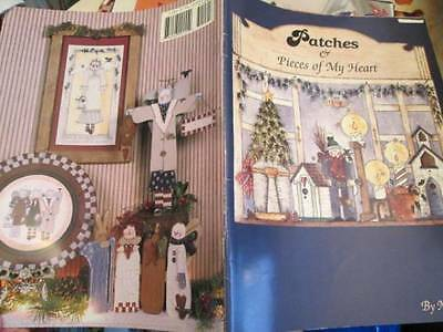 Patches & Pieces Of My Heart Painting Book-Gobel-Primitive Folk Art Style An
